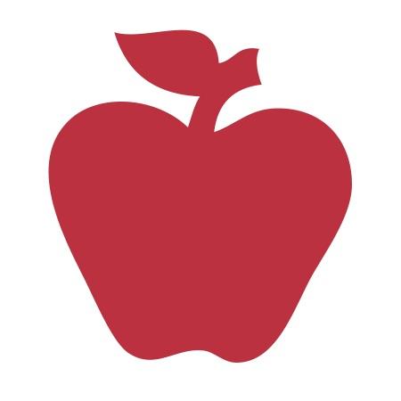 Apple Red Medium 40 shapes