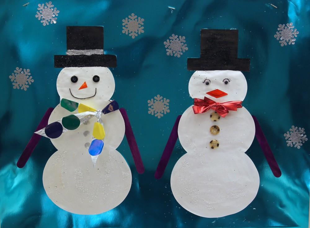 Snowman Super Doodles 25 Shapes