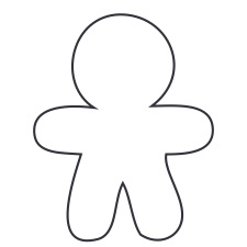 White Boy Small 40 Shapes