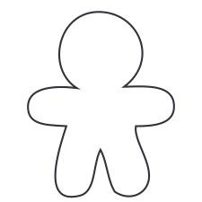 Boy White Medium 40 Shapes