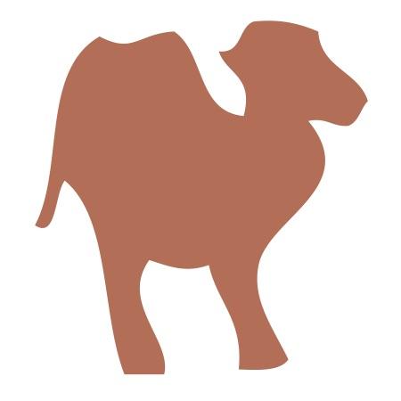 Camel Brown Medium 40 Shapes