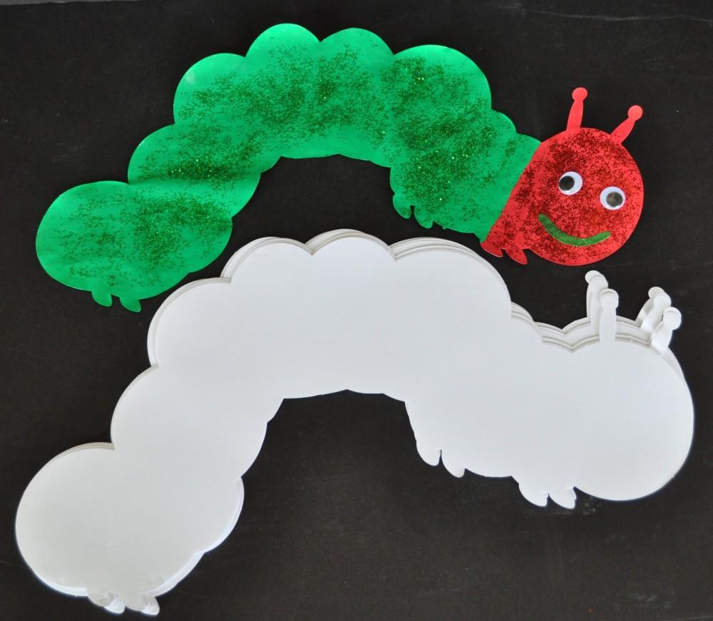 Caterpillar Super Doodles 25 Shapes