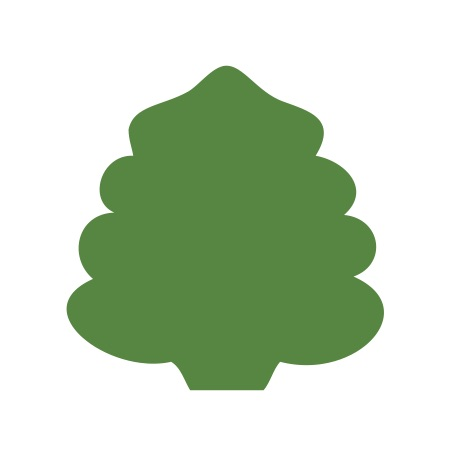 Christmas Tree Green Medium 40 Shapes