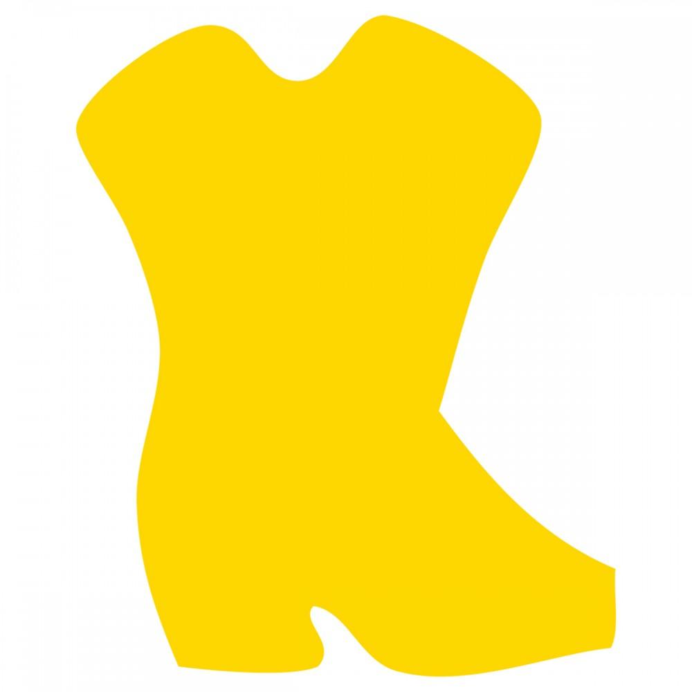 Cowboy Boot Yellow Medium 40 Shapes