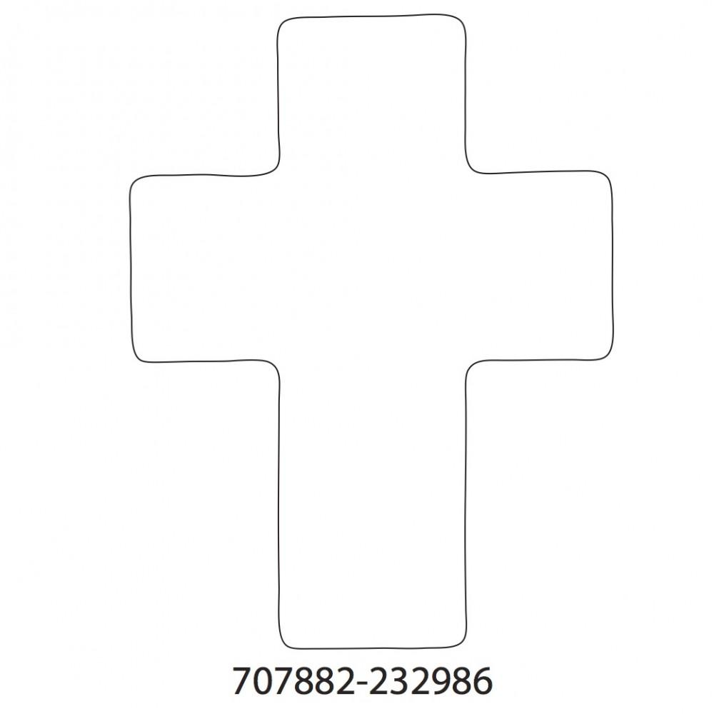 Cross White Original Medium 40 Shapes