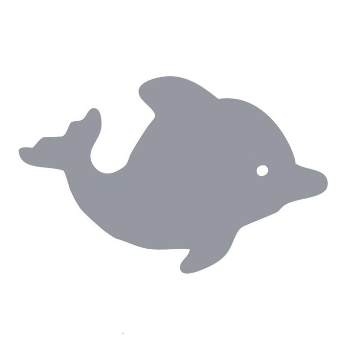 Dolphin Gray Medium 40 Shapes