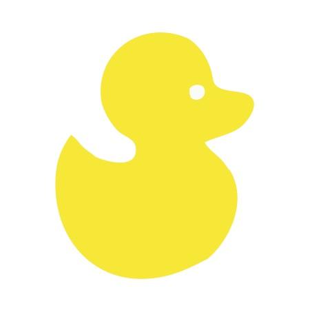 Duck Yellow Medium 40 Shapes