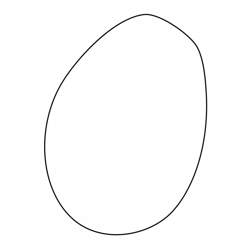 Egg White Medium 40 Shapes