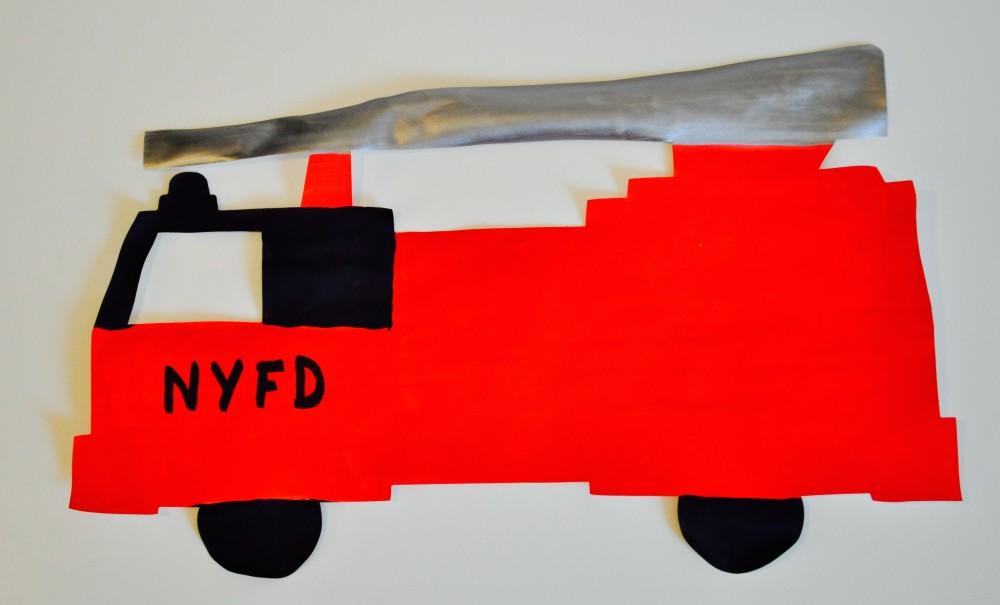 Fire Engine Super Doodles 25 Shapes
