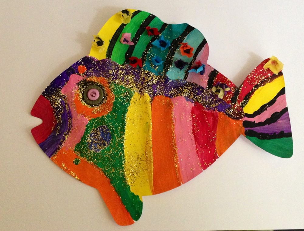 Fish Super Doodles 25 Shapes