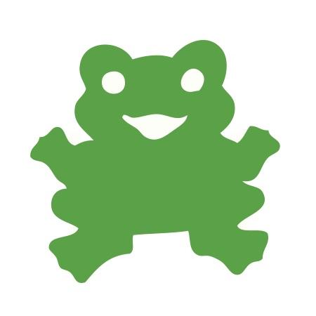 Frog Green Medium 40 Shapes