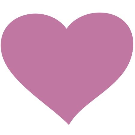 Heart Pink Medium 40 Shapes