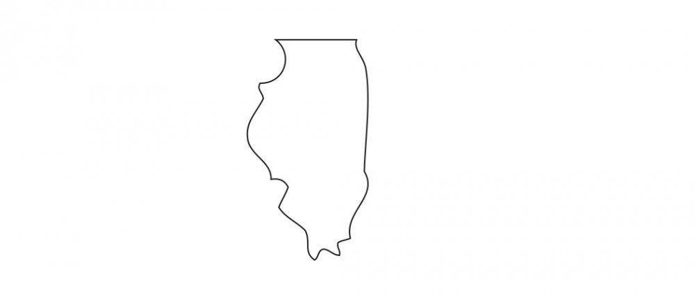 Illinois White Medium 40 Shapes