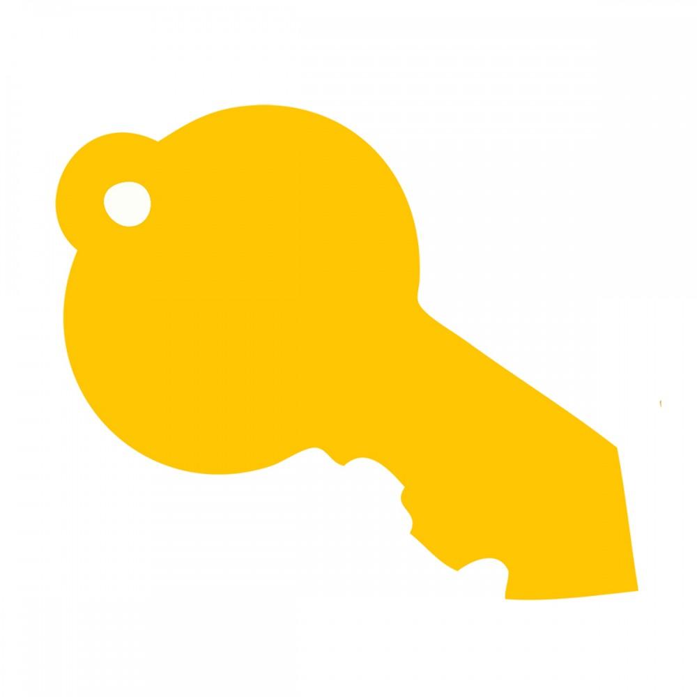 Key Yellow Small 40 Shapes