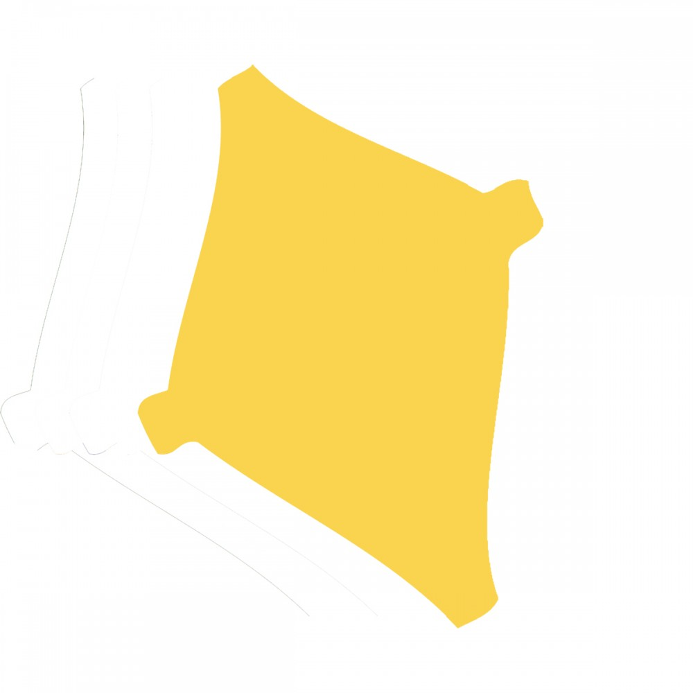 Kite Yellow Medium 40 Shapes