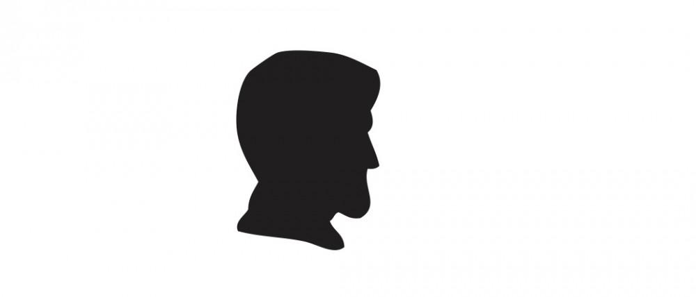 President Abraham Lincoln Black Medium 40 Shapes