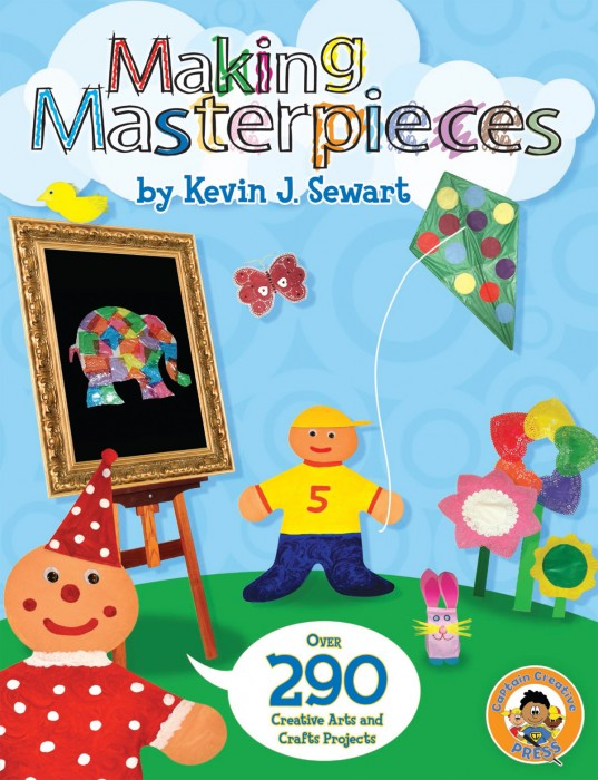 Making Masterpieces Book - A Captain Creative Exclusive Book