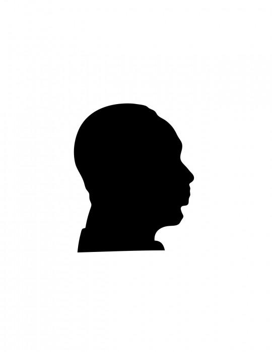 Dr. Martin Luther King Black Medium 40 Shapes