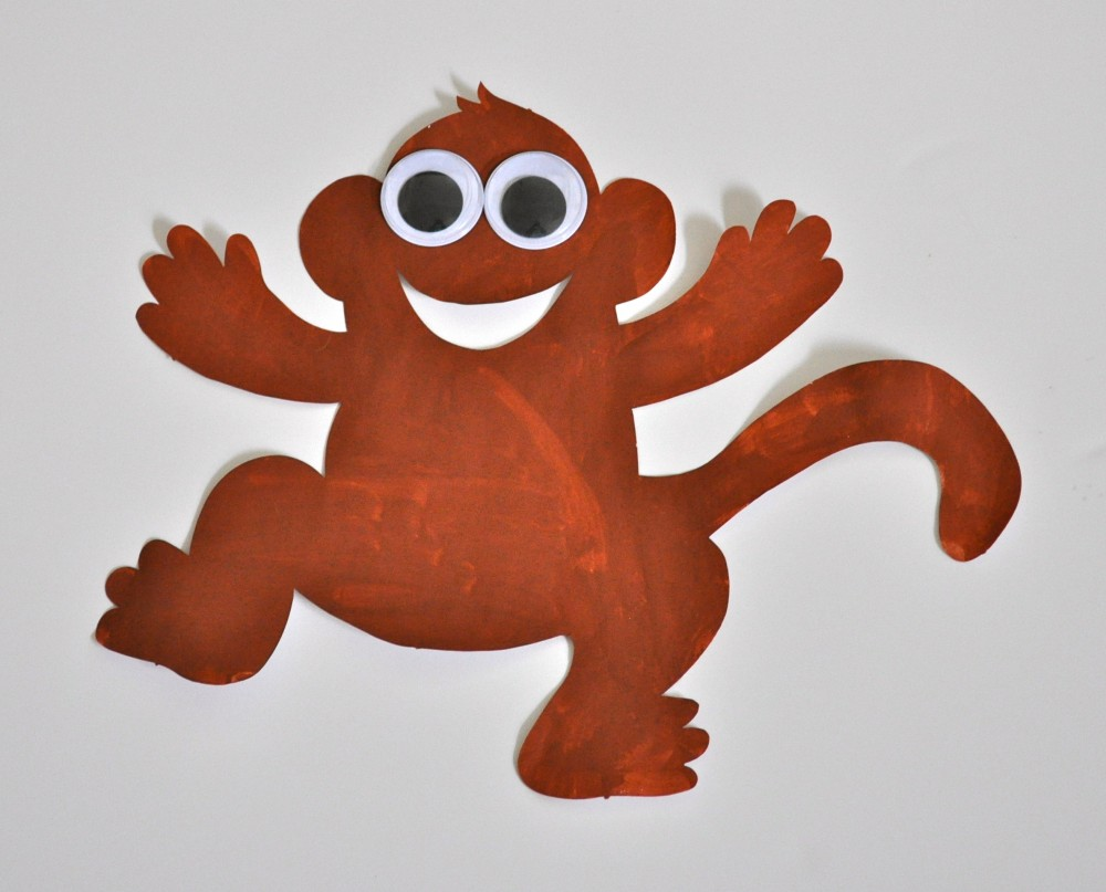 Monkey Super Doodles 25 Shapes
