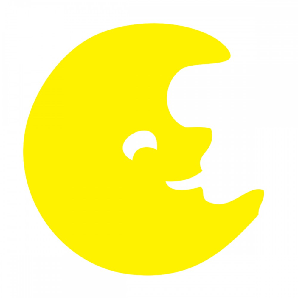 Moon Yellow Medium 40 Shapes