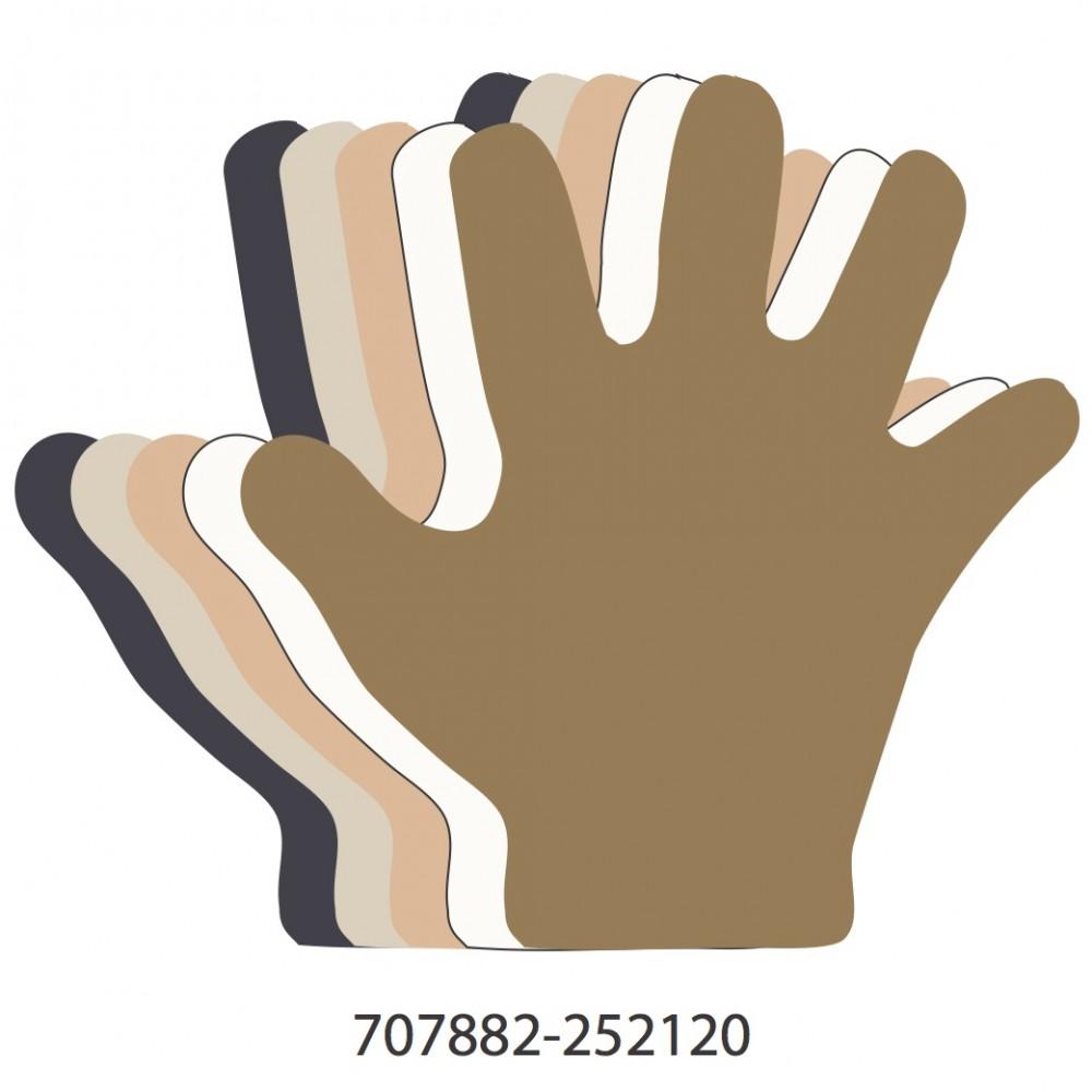 Hand Multicultural Colors Medium 40 Shapes
