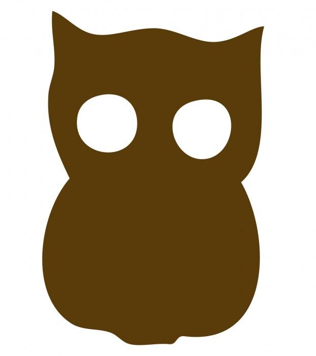 Owl Brown Medium 40 Shapes
