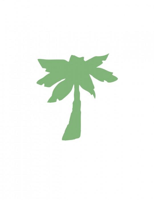Palm Green Medium 40 Shapes