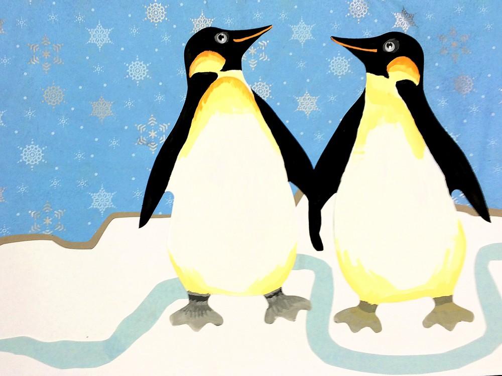 Penguin Super Doodles 25 Shapes