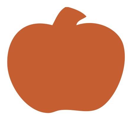 Pumpkin Orange Medium 40 Shapes