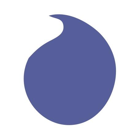 Raindrop Blue Medium 40 Shapes