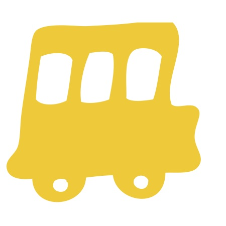 School Bus Yellow Medium 40 Shapes
