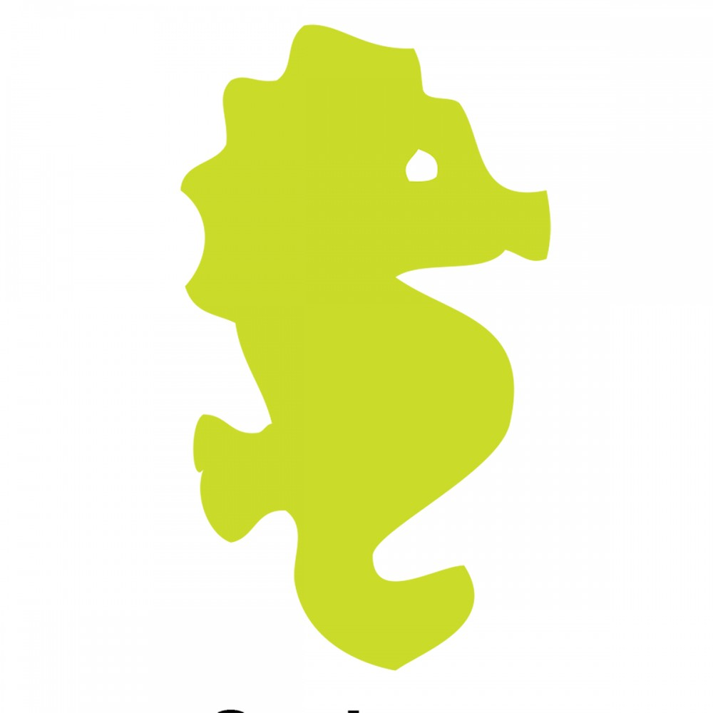 Seahorse Light Green Small 40 Shapes