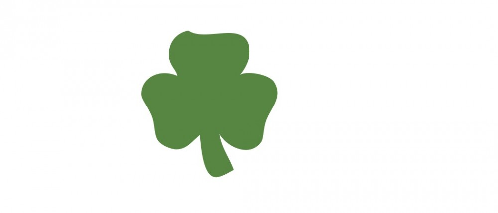 Green Shamrock Small 40 Shapes