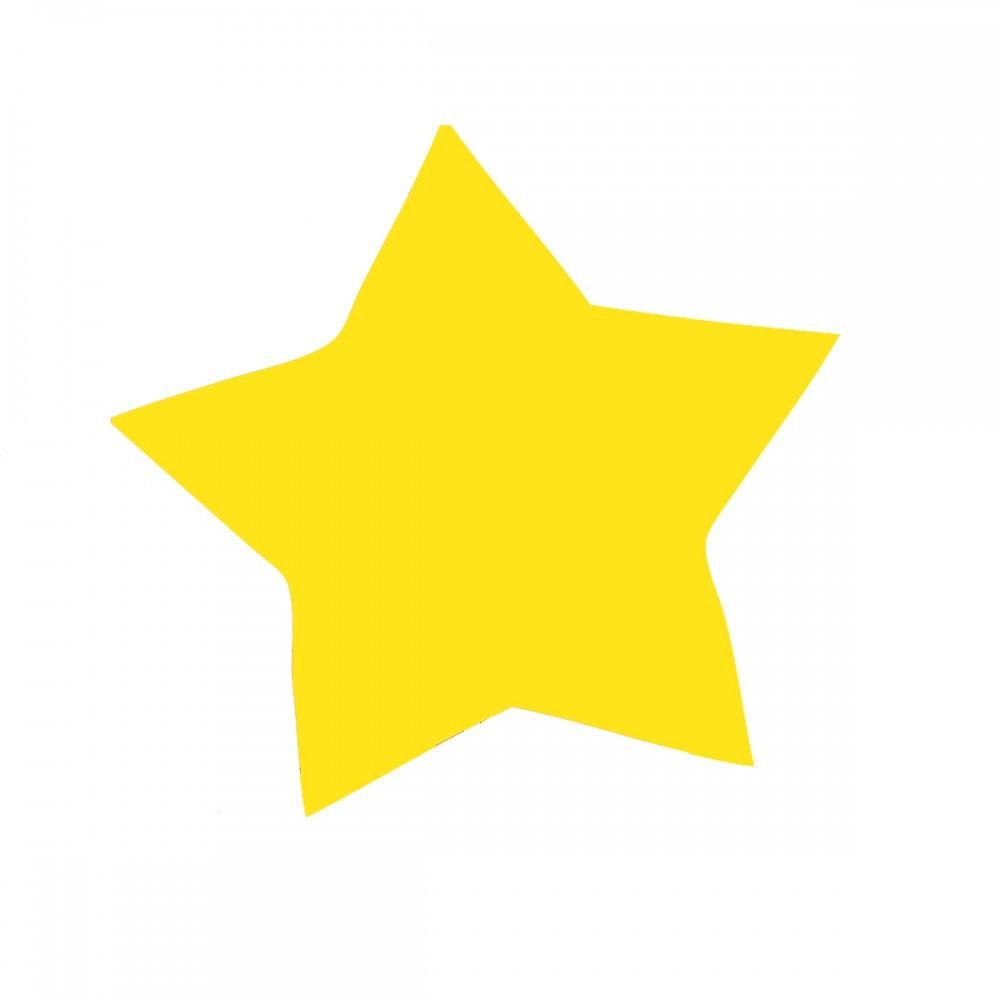 Star Yellow Medium 40 Shapes
