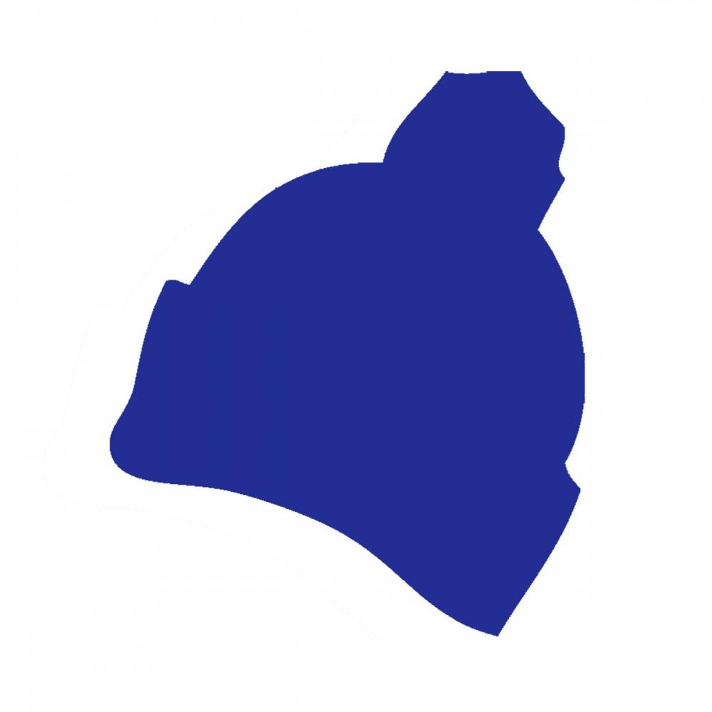 Winter Hat Blue Medium 40 Shapes