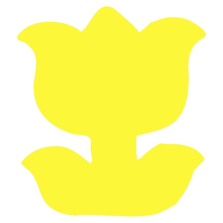 Yellow Tulip Small 40 Shapes