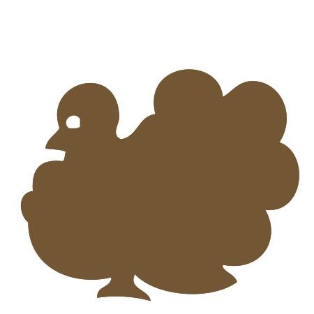 Turkey Brown Medium 40 Shapes